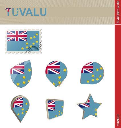 tuvalu: Tuvalu Flag Set