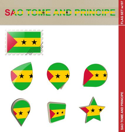 tome: Sao Tome and Principe Flag Set