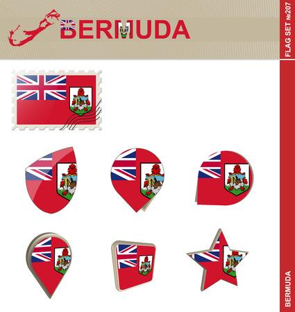 hamilton: Bermuda Flag Set