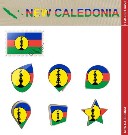 new caledonia: New Caledonia Flag Set