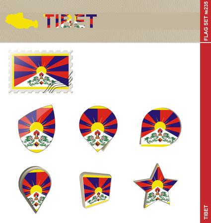 himalayas: Tibet Flag Set