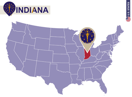 US Map With Capitals States And Capitals US State Capitals List - Indianapolis on us map