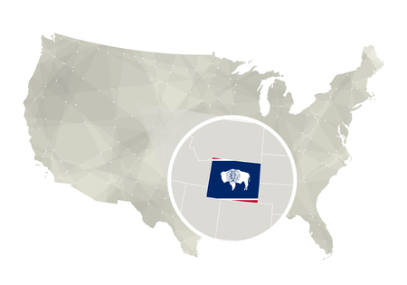 Wyoming On Us Map - Us map wyoming