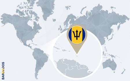 Barbados Vector Map Stock Vector Illustration And Royalty Free - Barbados earth map