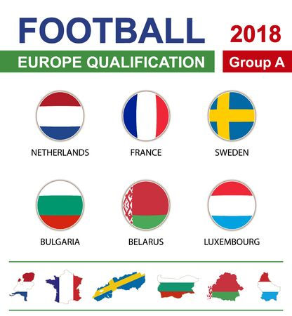 qualification: Football 2018, Europe Qualification, Group A, Netherlands, France, Sweden, Bulgaria, Belarus, Luxembourg