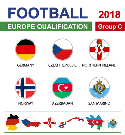qualification: Football 2018, Europe Qualification, Group C, Germany, Czech Republic, Northern Ireland, Norway, Azerbaijan, San Marino