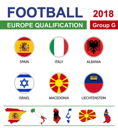 qualification: Football 2018, Europe Qualification, Group G, Spain, Italy, Albania, Israel, Macedonia, Liechtenstein