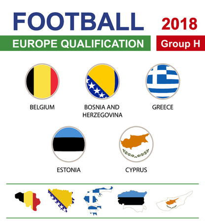 qualification: Football 2018, Europe Qualification, Group H, Belgium, Bosnia and Herzegovina, Greece, Estonia, Cyprus
