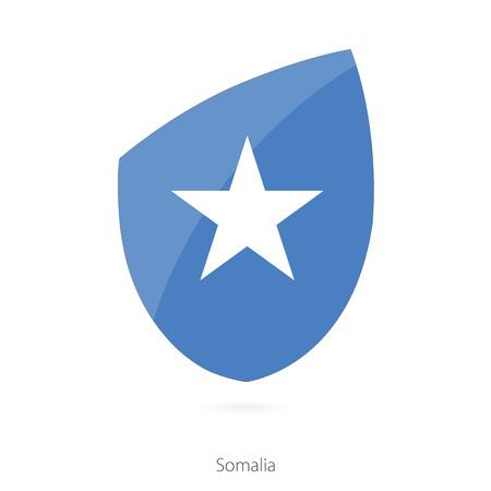 Flag of Somalia. Somalian Rugby flag. Vector Illustration. Illustration