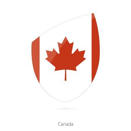 Flag of Canada. Vector Illustration.