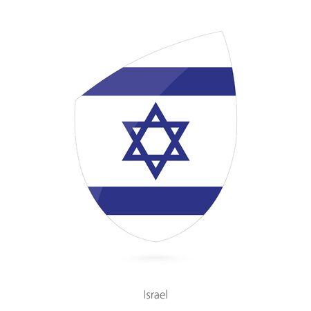 rightly: Flag of Israel. Vector Illustration. Illustration