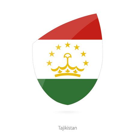 tajikistan: Flag of Tajikistan. Vector Illustration. Illustration