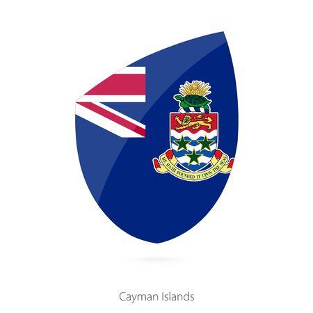 cayman islands: Flag of Cayman Islands. Vector Illustration.