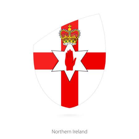 Flag of Northern Ireland. Vector Illustration.