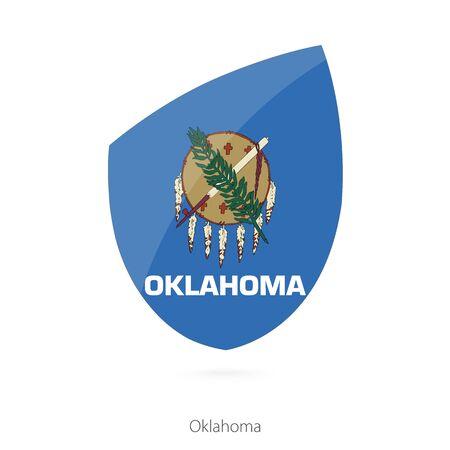 oklahoma: Flag of Oklahoma. Vector Illustration.