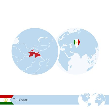 Tajikistan Map Vector Cliparts Stock Vector And Royalty Free - Tajikistan map vector