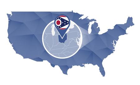 Columbus Ohio Stock Illustrations Cliparts And Royalty Free - Columbus ohio us map