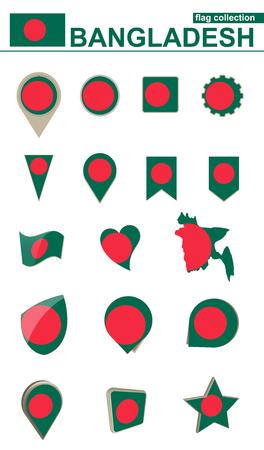 Bangladesh flag collection.