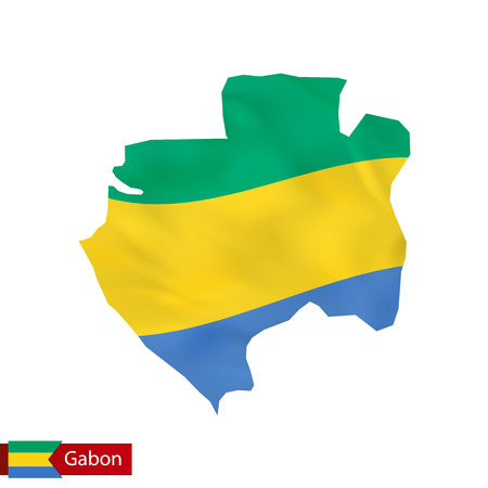 1185 gabon map cliparts stock vector and royalty free gabon map gabon map with waving flag of country vector illustration sciox Gallery