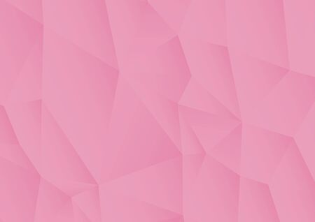Vector pink polygonal abstract background. Vector Illustration. Ilustrace