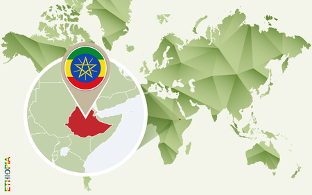 Ethiopia map stock photos royalty free business images infographic for ethiopia detailed map of ethiopia with flag vector infographic green map gumiabroncs Image collections