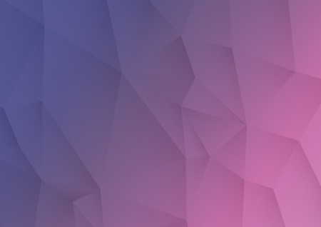 Ultra Violet abstract triangular background. Ultra Violet Lowpoly background. Vector Illustration. Stock Illustratie