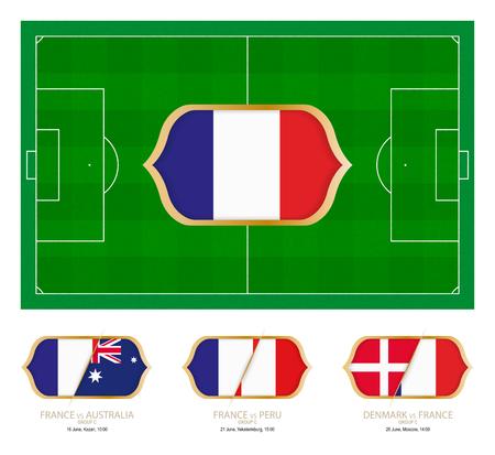 Alle Spiele der französischen Fußballmannschaft in Gruppe C.