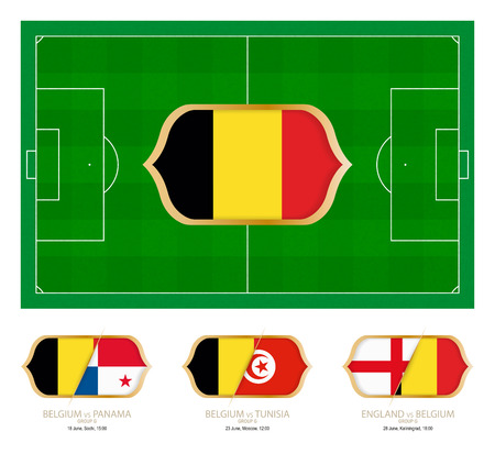 All games by Belgium soccer team in group G.