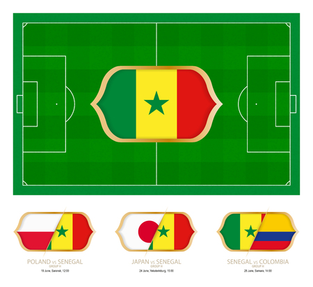 All games by Senegal soccer team in group H.