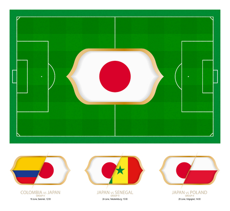 All games by Japan soccer team in group H.