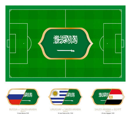All games by Saudi Arabian soccer team in group A.