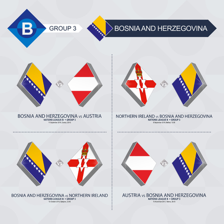 All games of Bosnia and Herzegovina in football nations league.