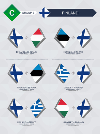 All games of Finland in football nations league.
