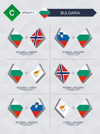 Alle wedstrijden van Bulgarije in de nationale voetbalcompetitie.