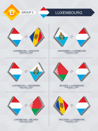 All games of Luxembourg in football nations league.