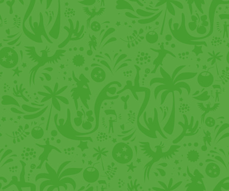 Seamless sports green pattern, abstract football vector background. Seamless Pattern included in swatch.