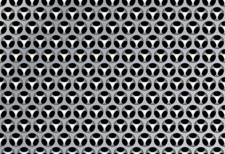 Abstract technology background, vector gray illustration. Reklamní fotografie - 124996955