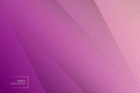 Geometric modern background. Purple abstract background. Vector template.  イラスト・ベクター素材