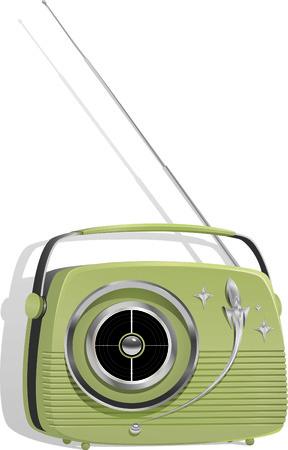 transistor: Retro Styled Transistor Radio Portable