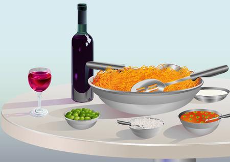 Spaghetti Milanese photo