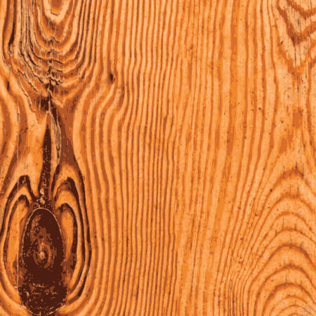 Old Knotted Pine Wood Texture - Illustration Vector