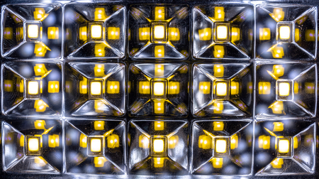 diode: Light emitting diode matrix of home lamp
