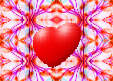 energy picture: An abstract picture of the energy of the Valentine Day Stock Photo