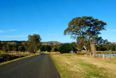 Picture of Bright and Sunny Day in the Australian Outback photo
