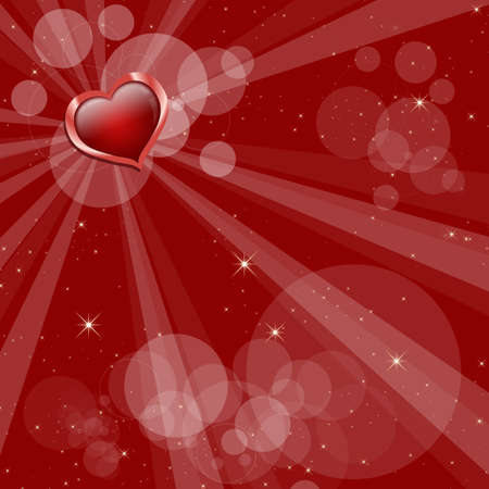 Square Valentines Day background for wedding or greeting card