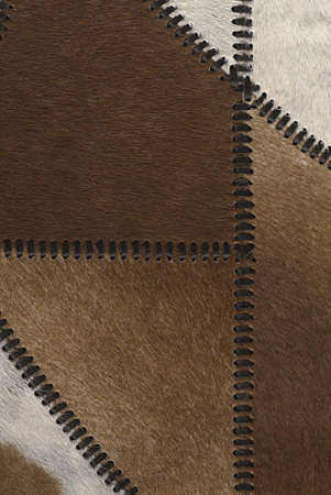 genuine good: Cow fur or skin background or texture