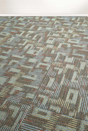 tilted view: Low close up view of a carpet texture background