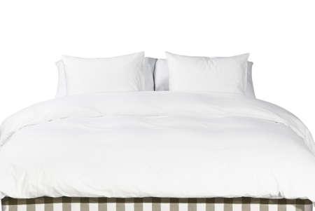 Almofadas brancas e macias confort