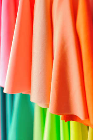 brightly colored: Background image of brightly colored fabrics
