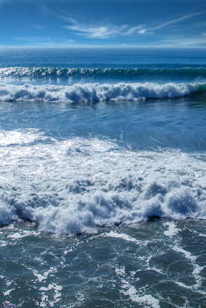 ocean waves: Ocean waves and foam details abstract background, travel concept